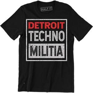 Detroit Techno Militia T-Shirt - EDM Underground